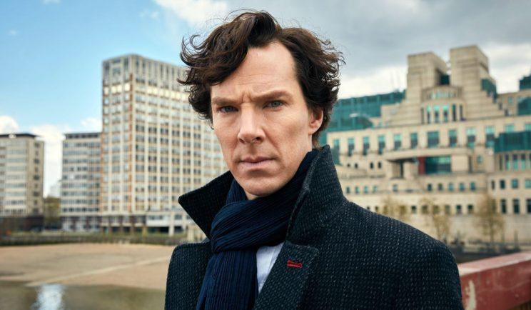 Benedict Cumberbatch returns as Sherlock.