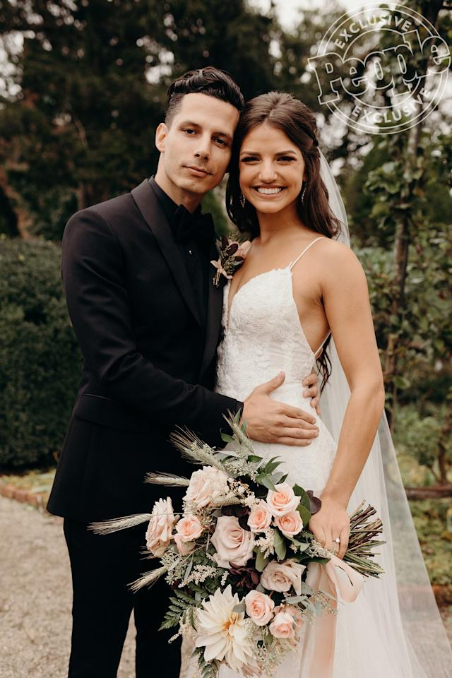 """<a href=""""https://people.com/tag/devin-dawson/"""">Devin Dawson</a> and Leah Sykes<a href=""""https://people.com/country/devin-dawson-marries-leah-sykes-wedding-photo/"""">tied the knot</a> in Franklin, Tennessee on Sunday in front of 200 guests at the<a href=""""https://boft.org/carnton"""">Carnton</a> historic plantation house and museum."""