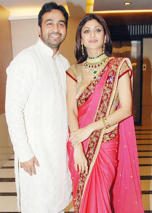 <b>6. Raj Kundra- Shilpa Shetty</b><br><br>Raj and Shilpa's wedding was one of the most talked about second marriages of the tinsel town. Prior to this, Raj was married to Kavita Kundra. They also have a daughter together. He divorced Kavita to marry Shilpa Shetty. They have recently been blessed with a baby boy.