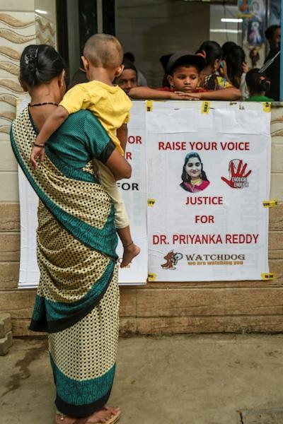 More than 33,000 rapes were reported in India in 2017 (AFP Photo/Indranil MUKHERJEE)