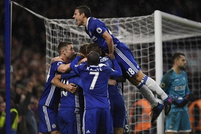 Chelsea, Gary Cahill, Cesar Azpilicueta, West Ham, English Premier League