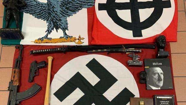 Italy's 'Miss Hitler' Among 19 Investigated for Starting New Nazi Party in Italy A3311e58bb9094109f828e3250a5819f