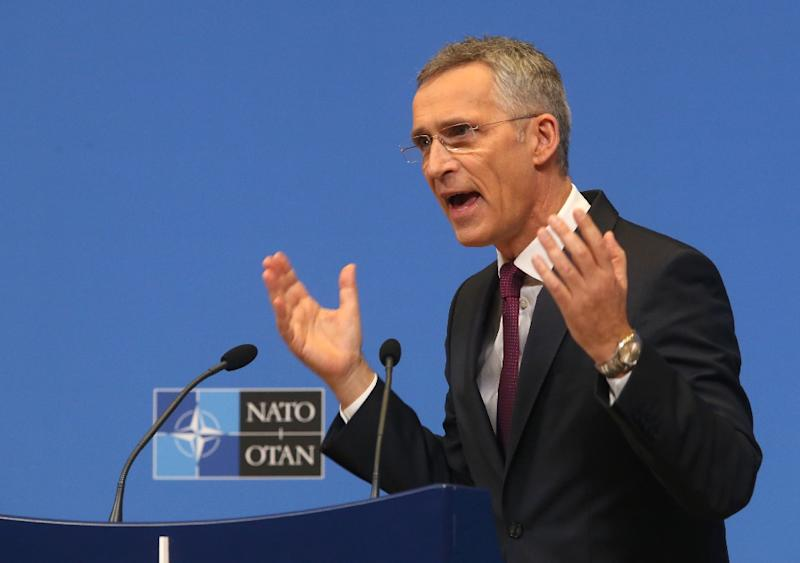 "NATO Secretary General Jens Stoltenberg said NATO now must prepare for a ""future without the INF treaty and with more missiles,"" while stressing rhe importance of dialogue with an increasingly assertive Russia (AFP Photo/François WALSCHAERTS)"