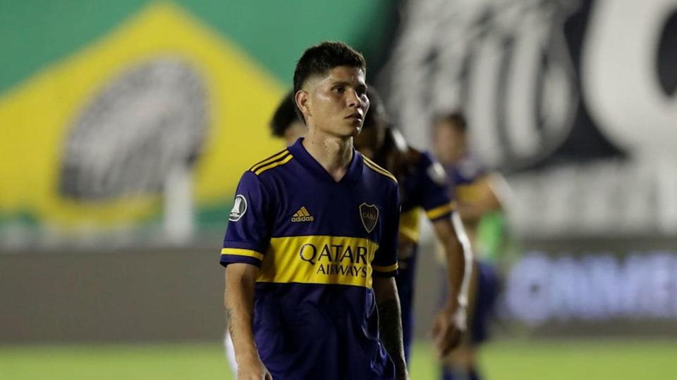 Santos v Boca Juniors - Copa CONMEBOL Libertadores 2020 - Campuzano. | Pool/Getty Images