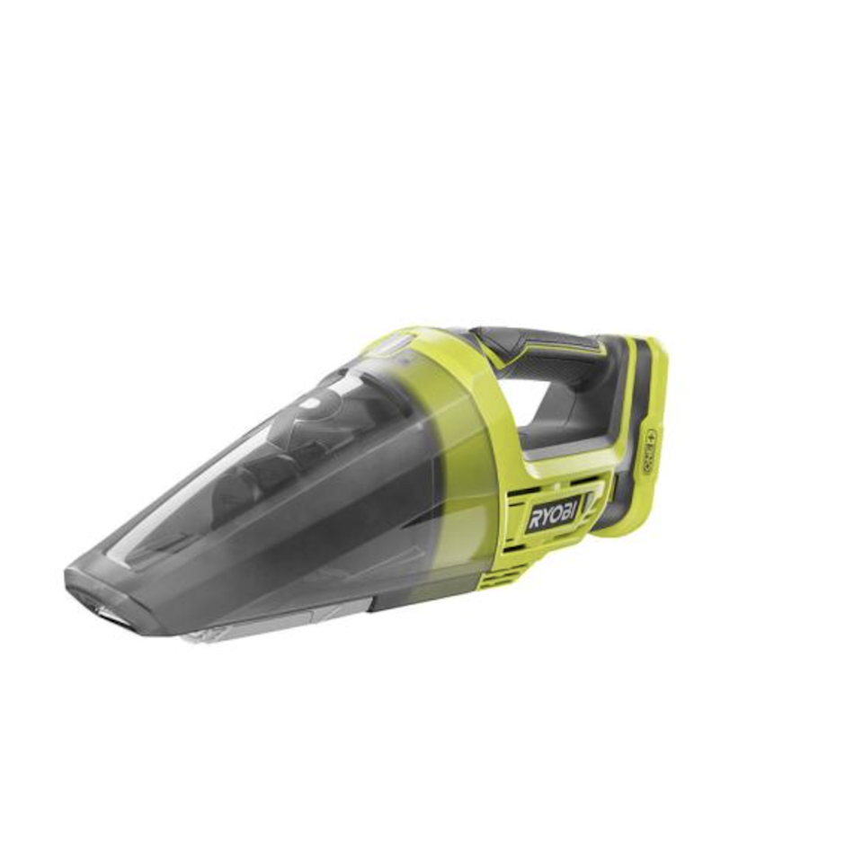 "<h2><a href=""https://fave.co/375rWwe"" rel=""nofollow noopener"" target=""_blank"" data-ylk=""slk:RYOBI 18-Volt ONE+ Lithium-Ion Cordless Hand Vacuum"" class=""link rapid-noclick-resp"">RYOBI 18-Volt ONE+ Lithium-Ion Cordless Hand Vacuum</a></h2><br><strong>The Hype:</strong> 4.4 out of 5 stars and 1,254 reviews on <a href=""https://fave.co/375rWwe"" rel=""nofollow noopener"" target=""_blank"" data-ylk=""slk:The Home Depot"" class=""link rapid-noclick-resp"">The Home Depot</a><br><br><strong>Clean Fiends Say:</strong> ""Great vacuum! This is the only vacuum I have (and I have several) that will clean my entry rugs and get all of the grass and debris out of them. I really like it. I can take it on my Pontoon boat and pick up dry messes with it to keep my boat clean."" – <em>Taylor, Home Depot reviewer</em><br><br><em>Shop <strong><a href=""https://fave.co/3oJgBIk"" rel=""nofollow noopener"" target=""_blank"" data-ylk=""slk:The Home Depot"" class=""link rapid-noclick-resp"">The Home Depot</a></strong></em><br><br><strong>RYOBI</strong> 18-Volt ONE+ Lithium-Ion Cordless Hand Vacuum, $, available at <a href=""https://go.skimresources.com/?id=30283X879131&url=https%3A%2F%2Ffave.co%2F375rWwe"" rel=""nofollow noopener"" target=""_blank"" data-ylk=""slk:The Home Depot"" class=""link rapid-noclick-resp"">The Home Depot</a>"