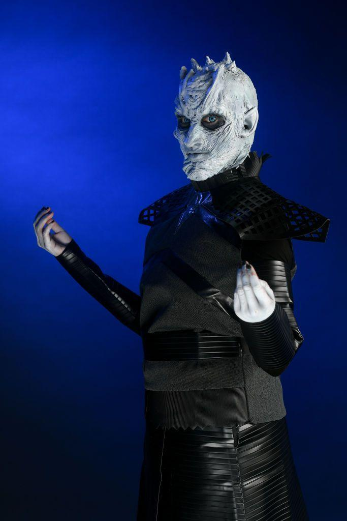 """<p>The seasons-long villain might seem like a tricky costume to pull off, but thanks to the many Night King masks that are on the market, it's actually quite simple.</p><p><strong>RELATED:</strong> <a href=""""https://www.womansday.com/style/g22509316/scary-halloween-costume-ideas/"""" rel=""""nofollow noopener"""" target=""""_blank"""" data-ylk=""""slk:Scary Halloween Costumes That Will Freak Everyone Out"""" class=""""link rapid-noclick-resp"""">Scary Halloween Costumes That Will Freak Everyone Out</a></p><p><a class=""""link rapid-noclick-resp"""" href=""""https://www.amazon.com/Trick-Treat-Studios-Thrones-Nights-Walker/dp/B01F4ER9VY/?tag=syn-yahoo-20&ascsubtag=%5Bartid%7C10070.g.28762544%5Bsrc%7Cyahoo-us"""" rel=""""nofollow noopener"""" target=""""_blank"""" data-ylk=""""slk:SHOP NIGHT KING MASK"""">SHOP NIGHT KING MASK</a></p>"""