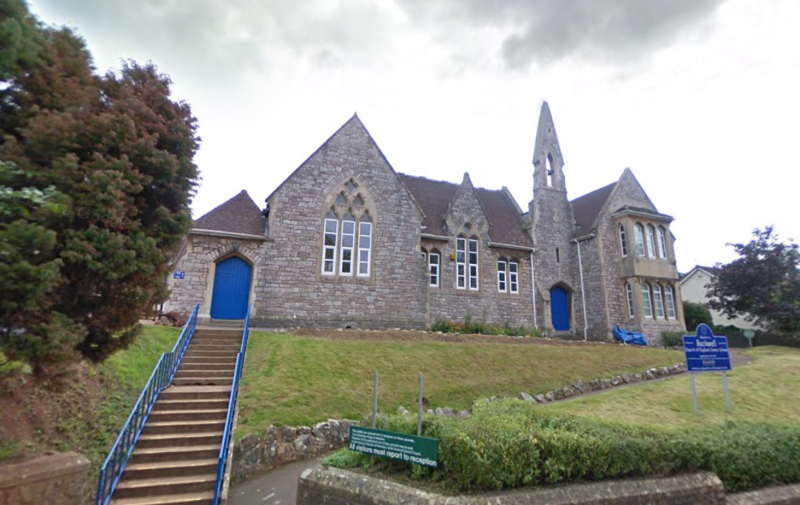 A large group of pupils at Backwell Junior School reported flu-like symptoms. (Google)