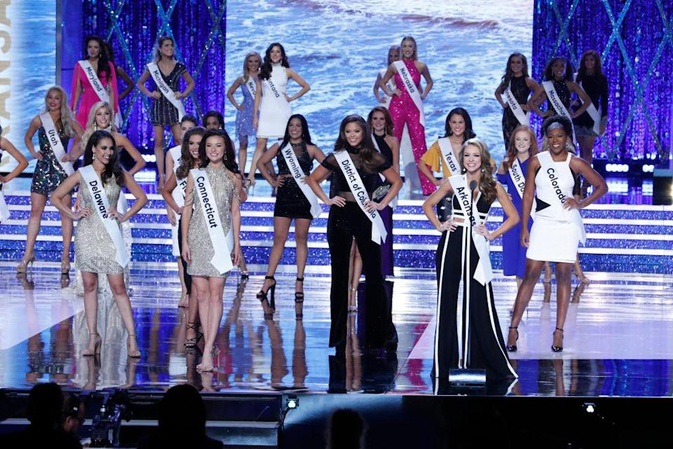 ABC broadcast Miss America live from Atlantic City on Sunday night. (Photo: Getty Images)