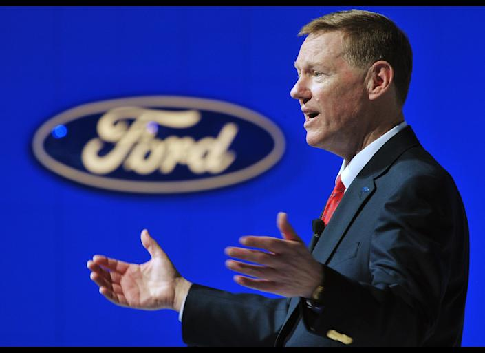 Ford CEO Alan Mulally made $26.5 million last year, as his company received a $75 million federal tax refund. Obama named him to the President's Export Council in 2010.