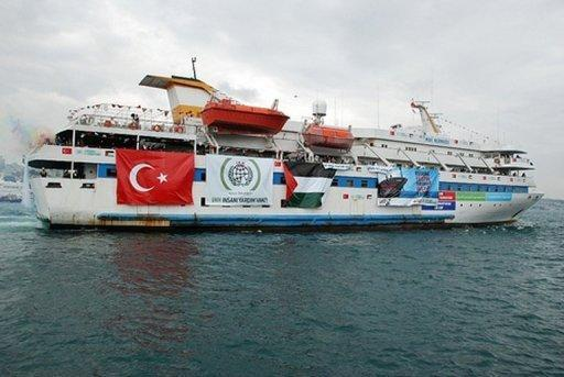 "The Turkish ship Mavi Marmara took part in the ""Freedom Flotilla"" that tried to break the Israeli blockade of the Gaza Strip in 2010. A UN rapporteur has slammed a highly anticipated UN report set to back an Israeli commando raid of a 2010 flotilla aiming to break the blockade of Gaza which left nine people dead"