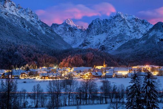 Winter wonderland: the charming Kranjska Gora is perfect for beginners