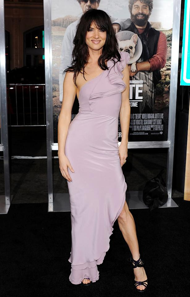 """<a href=""""http://movies.yahoo.com/movie/contributor/1800019350"""">Juliette Lewis</a> attends the Los Angeles premiere of <a href=""""http://movies.yahoo.com/movie/1810116445/info"""">Due Date</a> on October 28, 2010."""