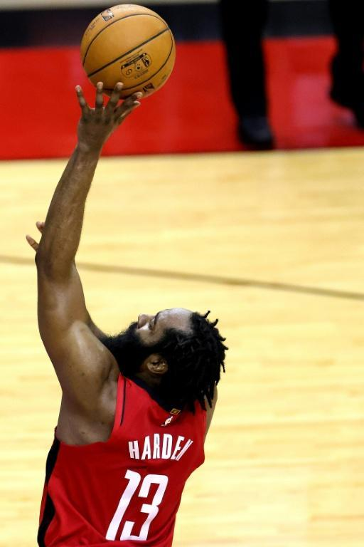 Aiming high: James Harden says the prospect of challenging for an NBA Championship prompted his move to Brooklyn