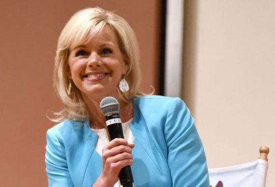 """Gretchen Carlson atthe """"Women at the Top: Female Empowerment in Media"""" panel, at the Greenwich International Film Festival, in Greenwich, Conn.(Photo: Noam Galai/Getty Images for GIFF)"""