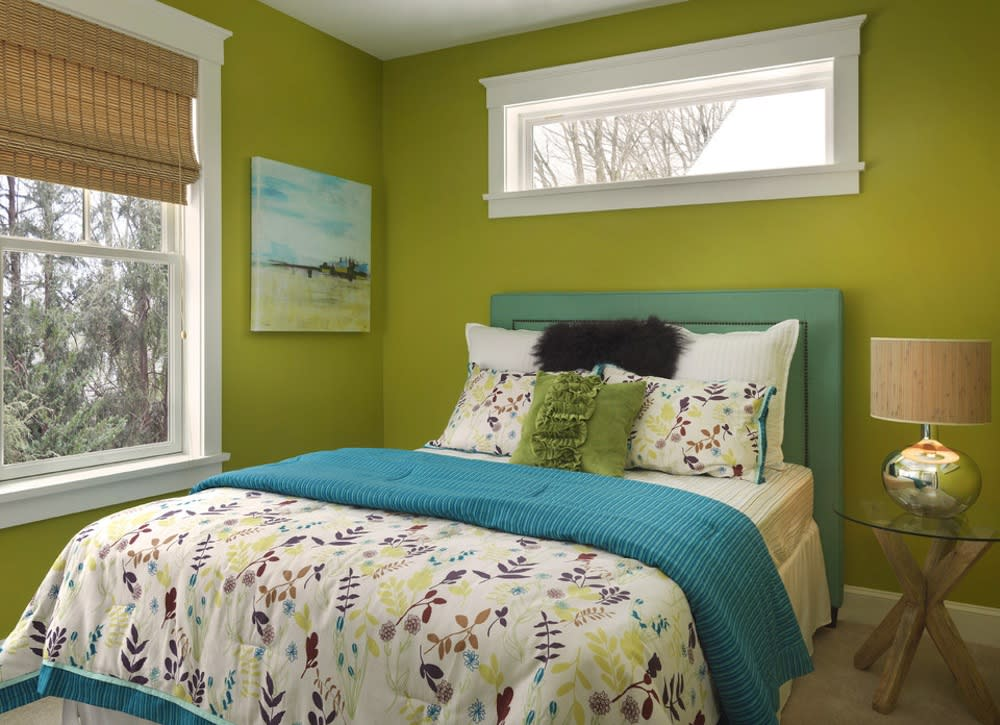 25 Chic And Serene Green Bedroom Ideas: The Only Colors You Should Use In A Small Space