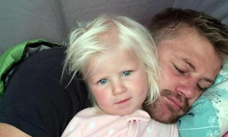 Rudy Bruynius and daughter McKayla