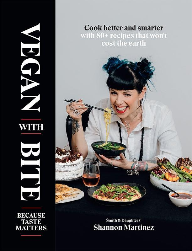 """<br><br><strong>Hardie Grant</strong> Vegan With Bite: Because Taste Matters, $, available at <a href=""""https://www.amazon.co.uk/Vegan-Bite-Shannon-Martinez/dp/1743796242"""" rel=""""nofollow noopener"""" target=""""_blank"""" data-ylk=""""slk:Amazon"""" class=""""link rapid-noclick-resp"""">Amazon</a>"""