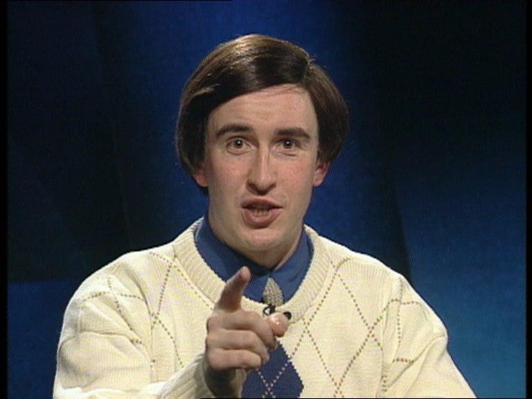 Alan in his early days as a sports reporter in the 90sPUBLICITY PICTURE