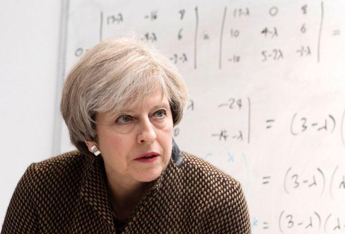 The Prime Minister must look to empower students from poorer backgrounds in more robust ways than merely forcing grammar schools to take in quota: AFP/Getty