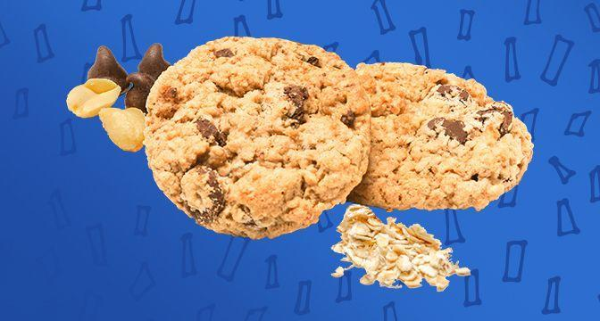 <p>This gluten-free cookie surprises with its peanut butter and oatmeal mashup. But it's the rich chunks of chocolate that put it on another level.</p>