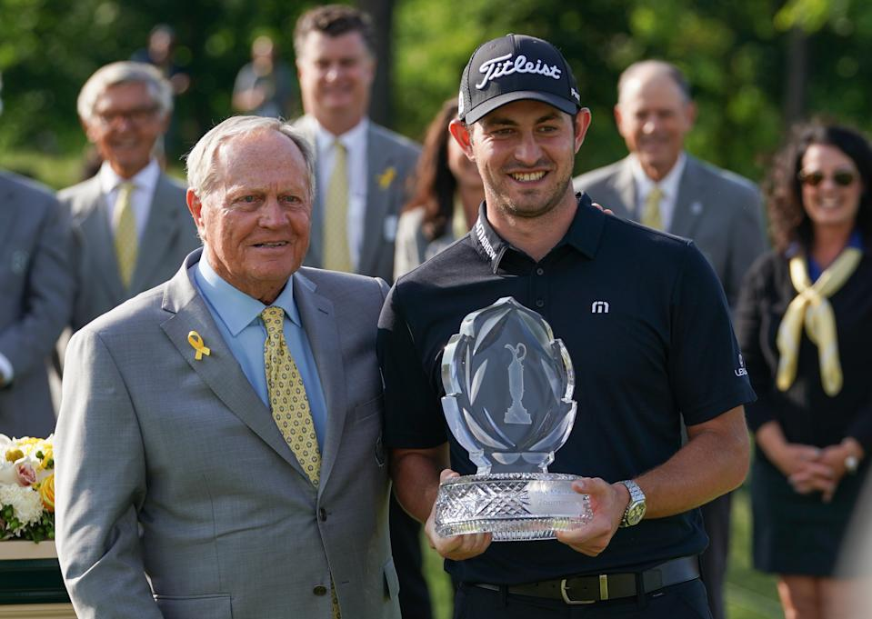 Jack Nicklaus and Patrick Cantlay at the 2019 Memorial. (Getty)