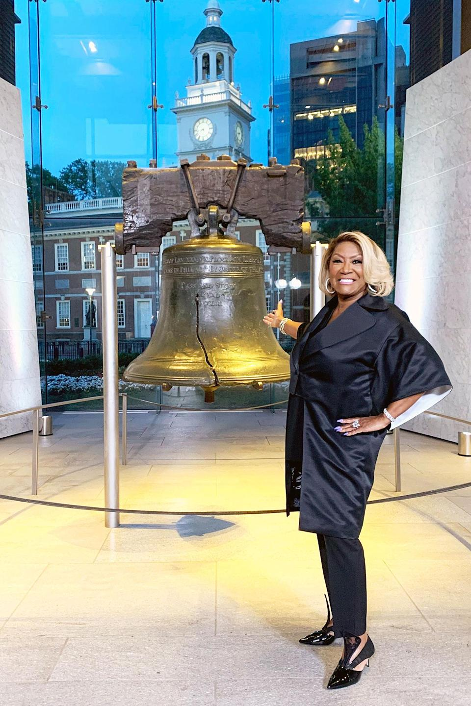 <p>Patti LaBelle performed during the 40th Anniversary of <em>A Capitol Fourth</em> concert.</p>