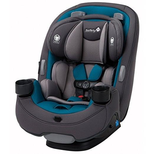 """<p>The <a href=""""https://www.popsugar.com/buy/Safety-1st-Grow-Go-3--1-Convertible-Car-Seat-116728?p_name=Safety%201st%20Grow%20and%20Go%203-in-1%20Convertible%20Car%20Seat&retailer=amazon.com&pid=116728&price=180&evar1=moms%3Aus&evar9=45652112&evar98=https%3A%2F%2Fwww.popsugar.com%2Ffamily%2Fphoto-gallery%2F45652112%2Fimage%2F45652158%2FSafety-1st-Grow-Go-3--1-Convertible-Car-Seat&list1=babies%2Ccar%20seats%2Cbaby%20shopping%2Cparenting%20advice%2Cbest%20of%202019&prop13=api&pdata=1"""" rel=""""nofollow"""" data-shoppable-link=""""1"""" target=""""_blank"""" class=""""ga-track"""" data-ga-category=""""Related"""" data-ga-label=""""https://www.amazon.com/Safety-1st-Grow-Convertible-Coral/dp/B015KFDJAM/ref=sr_1_21_s_it?s=baby-products&amp;ie=UTF8&amp;qid=1518815635&amp;sr=1-21&amp;keywords=convertible%2Bcar%2Bseat&amp;th=1"""" data-ga-action=""""In-Line Links"""">Safety 1st Grow and Go 3-in-1 Convertible Car Seat</a> ($180) can last your child from birth until they're 100 pounds! This car seat offers impressive side-impact protection and the brand's QuickFit Harness System secures your child in place properly without much fuss. </p>"""