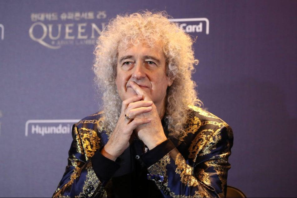 Time for some new rules: Brian May of Queen attends the press conference ahead of the Rhapsody Tour at Conrad Hotel on January 16, 2020 in Seoul (Photo by Chung Sung-Jun/Getty Images)