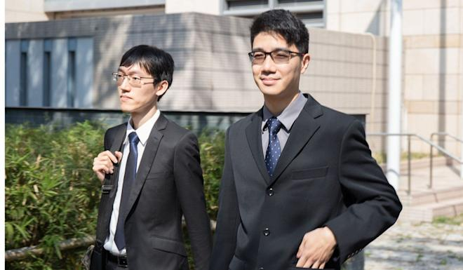 Pathologist Cheung Sai-yin (right) said he found no correlation between Yau's death and the two heart failures. Photo: Brian Wong