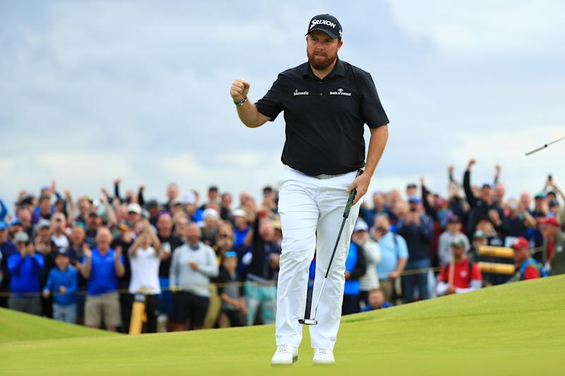 Shane Lowry hammered Royal Portrush on Saturday. (Getty)