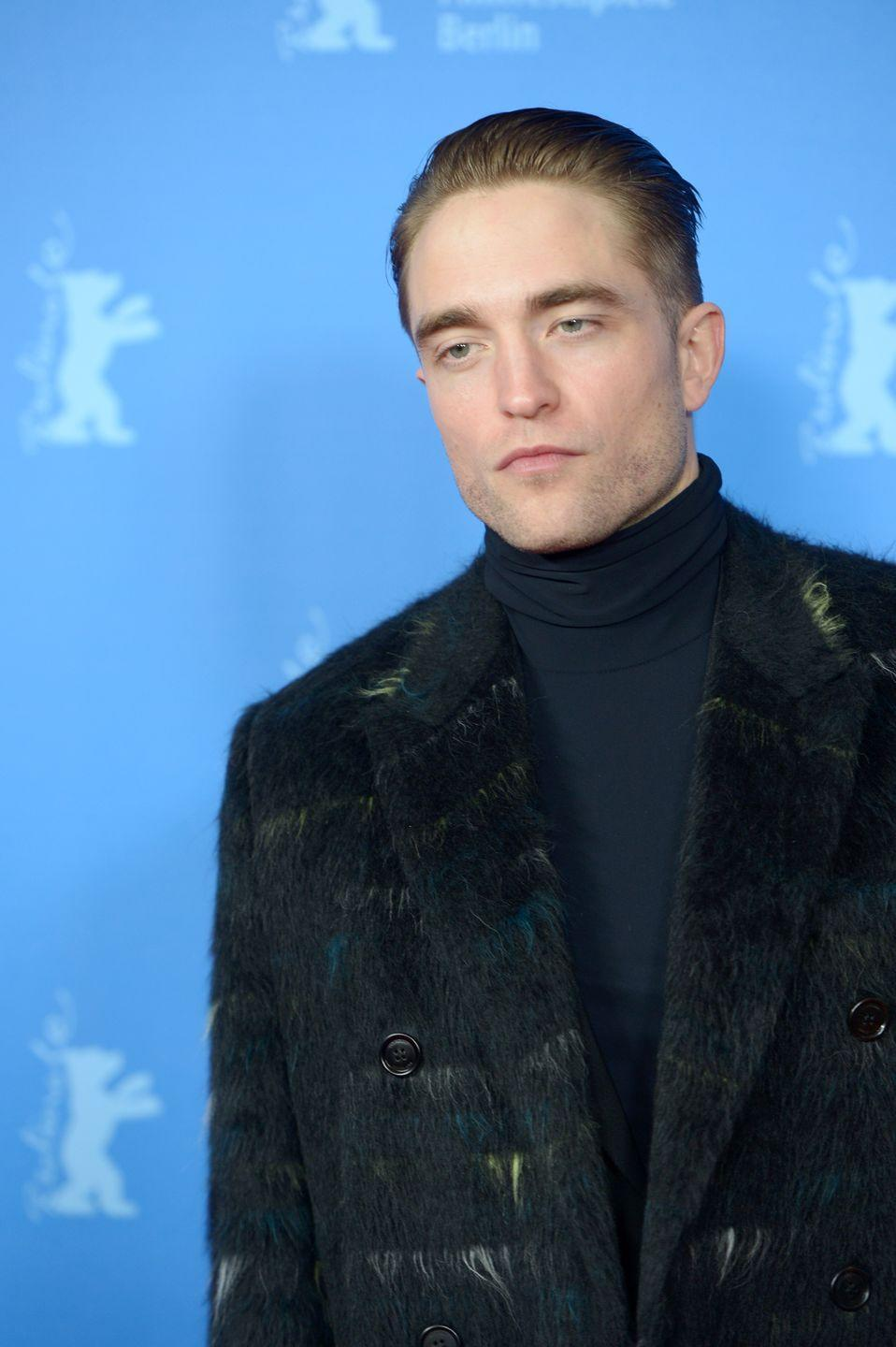 """<p>Polished hairstyles used to be greasy, crispy, and all around stiff. But, alas! Hair products are much better now and you do not need a full head of hardened gel to make it so. </p><p>For this kind of Fancy Rob look, go for something that has a bit of hold and a bit of texture, like a pomade or a <a href=""""https://www.amazon.com/Co-Freeway-Defining-Spray-Gel/dp/B073RV3417?tag=syn-yahoo-20&ascsubtag=%5Bartid%7C2139.g.33898672%5Bsrc%7Cyahoo-us"""" rel=""""nofollow noopener"""" target=""""_blank"""" data-ylk=""""slk:spray gel"""" class=""""link rapid-noclick-resp"""">spray gel</a> (which gives you much more control than a standard gel). To finish off any style, DeZarate recommends a <a href=""""https://www.amazon.com/ORIBE-Dry-Texturizing-Spray-8-5/dp/B003NXM9HS?tag=syn-yahoo-20&ascsubtag=%5Bartid%7C2139.g.33898672%5Bsrc%7Cyahoo-us"""" rel=""""nofollow noopener"""" target=""""_blank"""" data-ylk=""""slk:good texture spray"""" class=""""link rapid-noclick-resp"""">good texture spray</a>. This will keep your hair contained without the crunch. </p>"""
