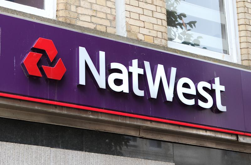 PAIGNTON, DEVON, UNITED KINGDOM - 2019/08/10: Natwest bank seen on the high street in Devon. (Photo by Keith Mayhew/SOPA Images/LightRocket via Getty Images)