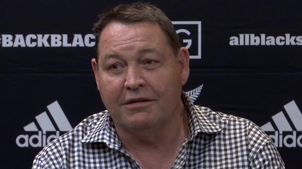 """<p>SHOWS:</p>               <p>KASHIWA, JAPAN (SEPTEMBER 9, 2019) (REUTERS - ACCESS ALL)</p>               <p>1. (SOUNDBITE) (English) NEW ZEALAND HEAD COACH, STEVE HANSEN, WHEN ASKED ABOUT TYPHOON, SAYING:</p>               <p>    """"They are all things we know about and we have planned for so no more concerns. The Christchurch boys are waiting for the first earthquake and to give everyone else a hard time. Part of our planning is understanding what we are coming into. We are well aware of what we could get.""""</p>               <p>2. FAN WITH SIGN READING 'KIA ORA (WELCOME) ALL BLACKS </p>               <p>3. (SOUNDBITE) (English) NEW ZEALAND HEAD COACH, STEVE HANSEN, WHEN ASKED ABOUT TYPHOON, SAYING:</p>               <p>    """"You are expected to win all the time so you have to make a choice whether you sink or you stand up. For us, it is about getting excited about trying to do something that nobody else has ever done (win three consecutive World Cups) before and we are the only team at this tournament that can do it. So, it is an unique challenge to us and if we really embrace that, like I said before, and have fun doing it then that helps you deal with all the pressure that comes with it.""""</p>               <p> STORY: Typhoons are just one of the many challenges world champions New Zealand will have to contend with at the upcoming Rugby World Cup, head coach Steven Hansen said on Monday (September 9) after his team's arrival in Japan was disrupted by the aftermath of typhoon Faxai.</p>               <p>    The storm, one of the strongest to hit eastern Japan in recent years, struck shortly before dawn, killing one woman, damaging buildings and severely disrupting transport.</p>               <p>    More than 160 flights were cancelled, causing chaos at both of Tokyo's major airports.</p>               <p>    With the world's top rugby teams arriving this week ahead of the World Cup that begins on Sept. 20, New Zealand, England and Australia were all caught up in th"""