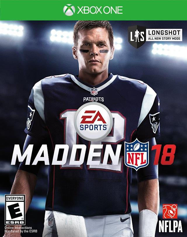 Madden 18 cover (via EA Sports/Microsoft)