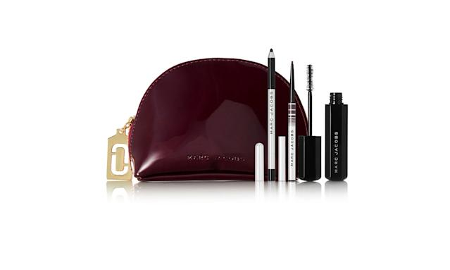 "<p>Beauty Velvet Crew eye collection, $49, <a href=""https://www.net-a-porter.com/us/en/product/1000916/marc_jacobs_beauty/velvet-crew-eye-collection"" rel=""nofollow noopener"" target=""_blank"" data-ylk=""slk:net-a-porter.com"" class=""link rapid-noclick-resp"">net-a-porter.com</a> </p>"