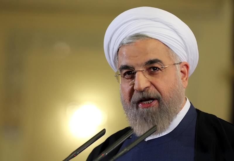 "Iranian President Hassan Rouhani says the country is about to enter ""a year of economic prosperity"""
