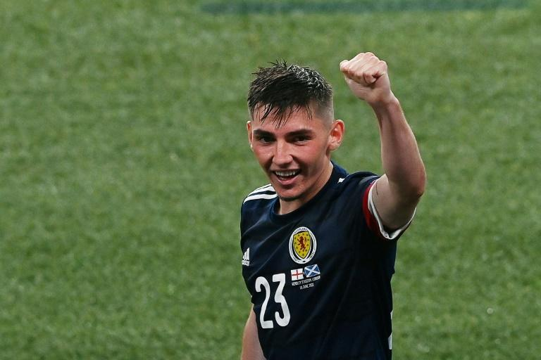 Scotland midfielder Billy Gilmour was man of the match against England