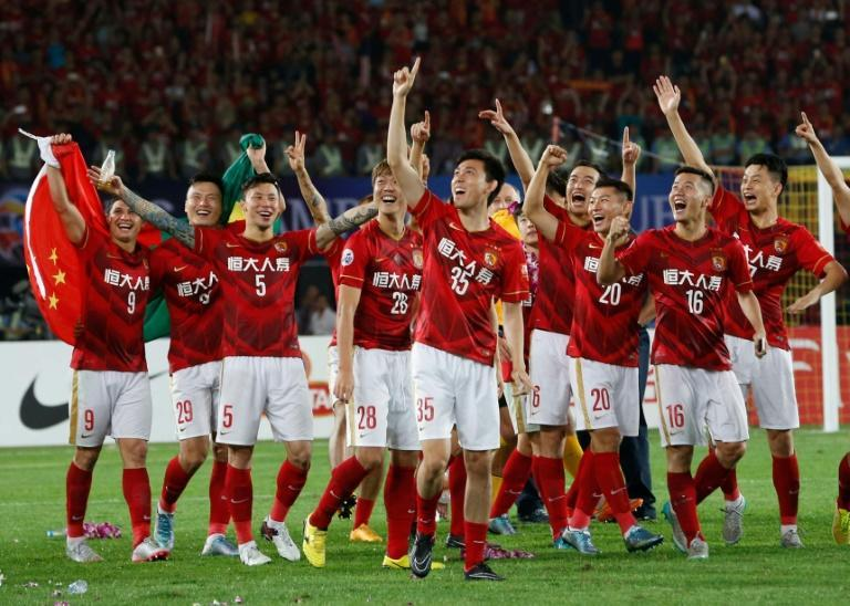 China's Guangzhou Evergrande won the Asian Champions League in 2013 and 2015