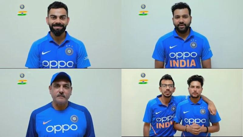 India Independence Day 2019 Greetings: Virat Kohli, Rohit Sharma And Other Team Members Wish Nation on 73rd I-Day