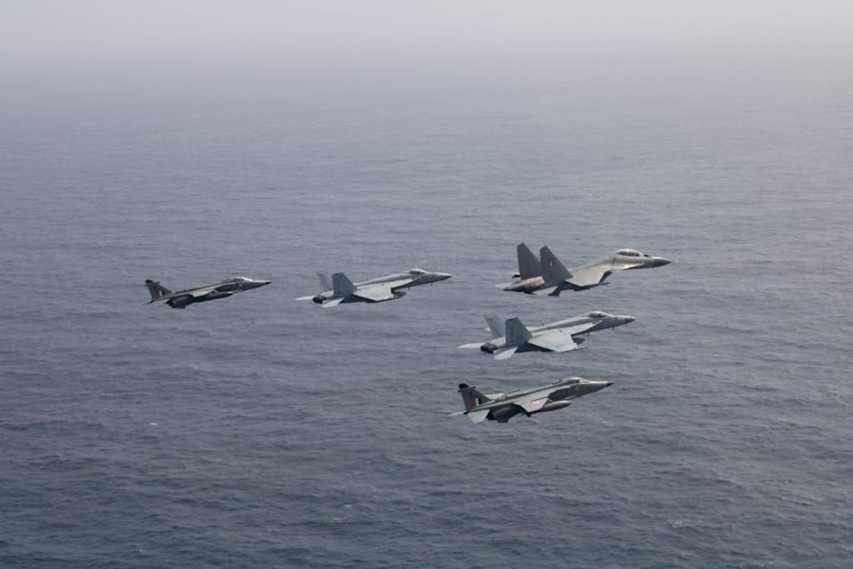 India, US commences its two-day integrated exercise in Indian Ocean Region