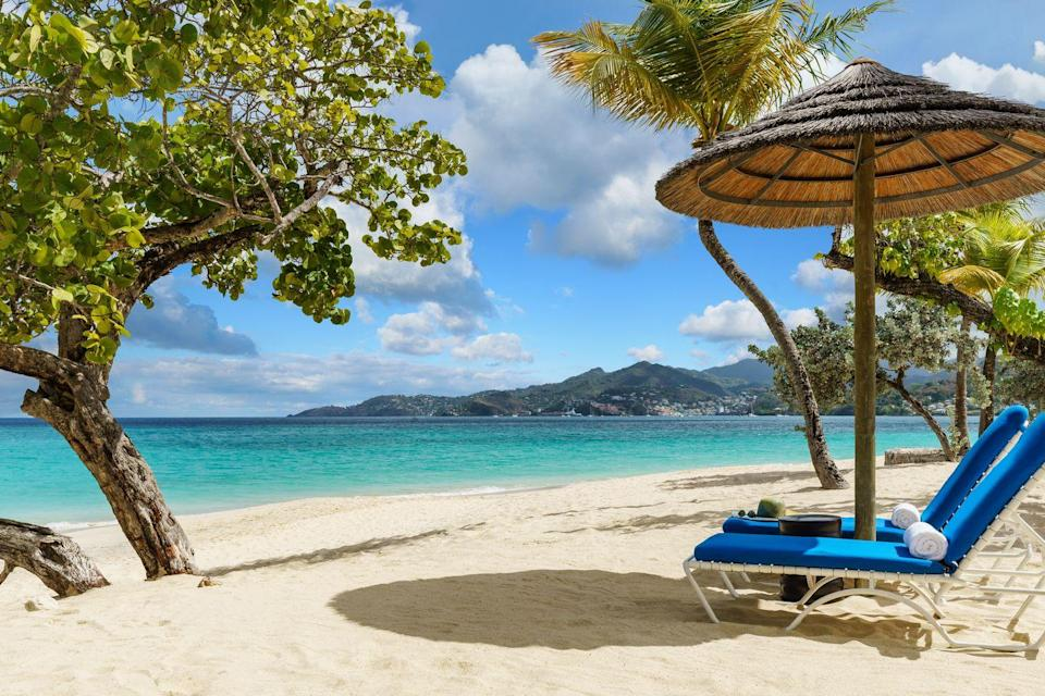 """<p><a href=""""https://www.spiceislandbeachresort.com/"""" rel=""""nofollow noopener"""" target=""""_blank"""" data-ylk=""""slk:Spice Island"""" class=""""link rapid-noclick-resp"""">Spice Island </a>is consistently ranked one of the most lavish all-inclusive resorts for families. The Anse Beach destination offers six types of suites with spectacular amenities like cedar saunas, private gardens, and personal wet bars to truly make the most of your stay. </p><p>When the family needs a break from the togetherness, the resort features a kids' club for ages 3-12 while the adults hit the links, spa, or brunch. Guests will be pampered with the idyllic blend of historic charm and modern luxury on a trip to Spice Island Beach Resort. </p>"""