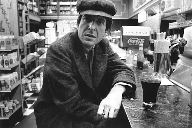 <p>Leonard Cohen was a prolific artist: musician, poet, novelist. He is best known for writing Hallelujah, which has since been covered by various artists. He died at 82 on November 7 due to complications from a fall. — (Pictured) Canadian poet, singer-songwriter and novelist Leonard Cohen poses for a portrait in a diner in New York, New York circa 1968. (Roz Kelly/Michael Ochs Archives/Getty Images) </p>