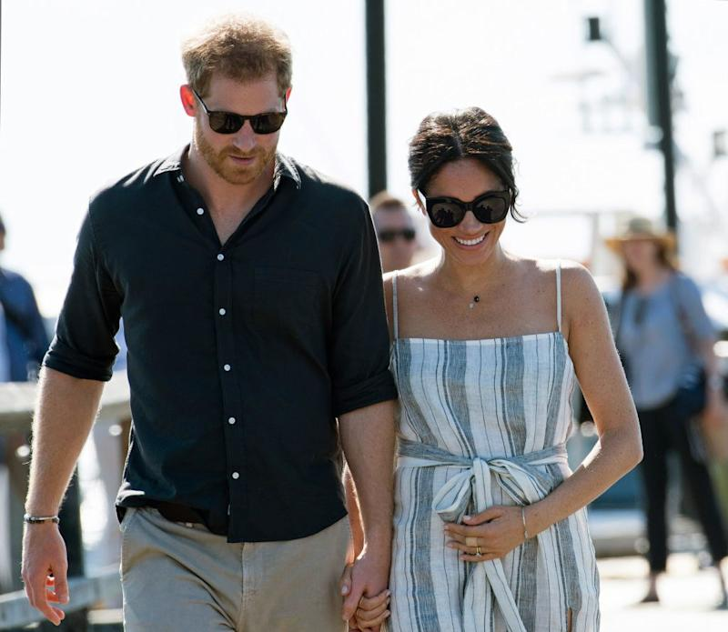 Harry and Meghan 'tipped to give unborn baby unusual Italian name'