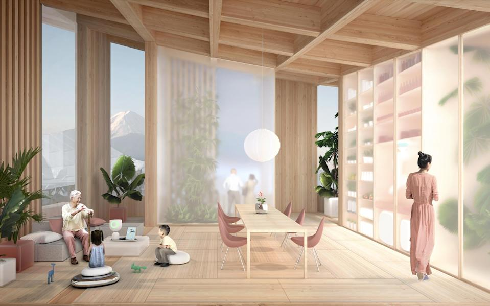 For the design of Woven City, Toyota has commissioned Danish architect, Bjarke Ingels - Toyota