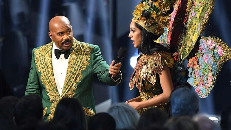 Miss Universe Pageant Says Steve Harvey Did Not Mix Up National Costume Winner in Shocking, Confusing Twist