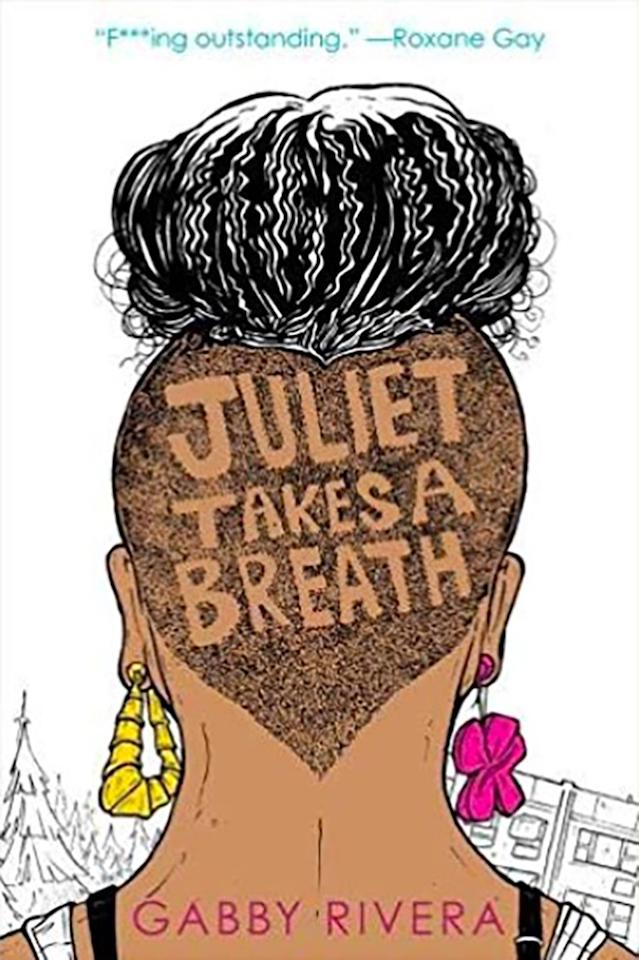 "<p><a class=""body-btn-link"" href=""https://www.amazon.co.uk/Juliet-Takes-Breath-Gabby-Rivera/dp/1368026303/ref=sr_1_1?keywords=Juliet+Takes+A+Breath+by+Gabby+Rivera&qid=1567161886&s=gateway&sr=8-1&tag=hearstuk-yahoo-21&ascsubtag=%5Bartid%7C1919.g.15922606%5Bsrc%7Cyahoo-uk"" target=""_blank"">SHOP NOW</a> £15.99, Amazon</p><p>Juliet Milagros Palante, a self-proclaimed closeted Puerto Rican baby dyke from the Bronx, comes out to her parents the night before flying to Portland, Oregon, to intern for her favourite feminist writer.  It doesn't go so well, and as she embarks on a summer that will be a full on exploration of race and identity, she wonders whether she'll ever speak to her mother again.<br></p>"
