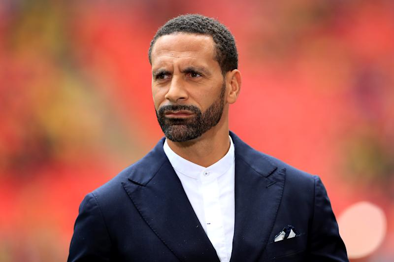 File photo dated 18/5/2019 of former England footballer Rio Ferdinand who has been banned from driving for six months after admitting a speeding charge at Crawley Magistrates' Court. The ex-Manchester United star, who is now a football pundit, was caught doing more than 70 miles per hour in a Mercedes on the A27 at Hangleton in Hove on the south coast on July 22 last year.