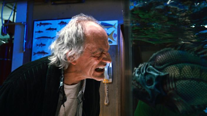 """This film image released by The Weinstein Company shows Christopher Lloyd in a scene from """"Piranha 3DD."""" (AP Photo/The Weinstein Company)"""