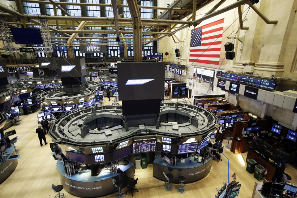 FILE - This Thursday, Feb. 9, 2017, file photo, shows the floor of the New York Stock Exchange. Exchange-traded funds have swept the stock market over the past decade and been a blessing for many investors. But while large index-based funds, such as those that track the Standard & Poor's 500, may fairly represent the index's stocks, smaller niche ETFs don't always deliver strictly what their names promise, and you might wind up indirectly buying a lot of something you didn't really want. (AP Photo/Mark Lennihan, File)