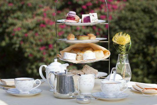 Five top places for afternoon tea